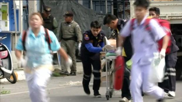 Le PM thailandais appelle au calme, aucun Vietnamien parmi les victimes des attaques hinh anh 2