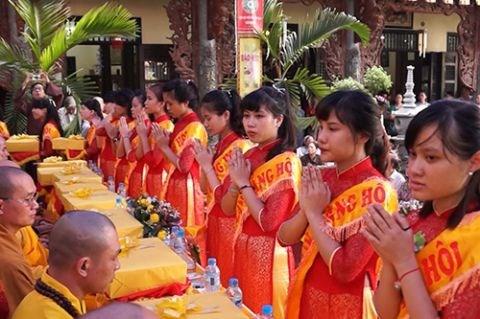 La fete Vu Lan celebree en Inde hinh anh 1