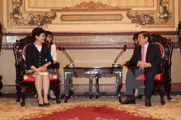 Hong Kong (Chine) souhaite approfondir sa cooperation avec Ho Chi Minh-Ville hinh anh 1