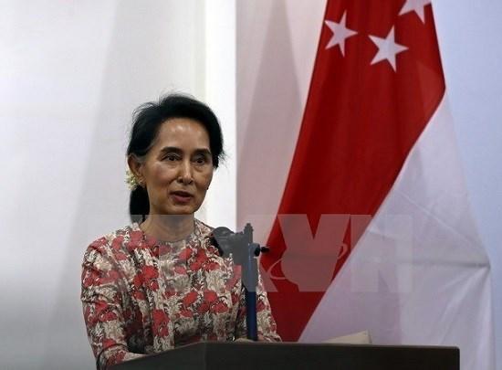 Le conseiller d'Etat du Myanmar appelle a la solidarite pour une paix durable hinh anh 1