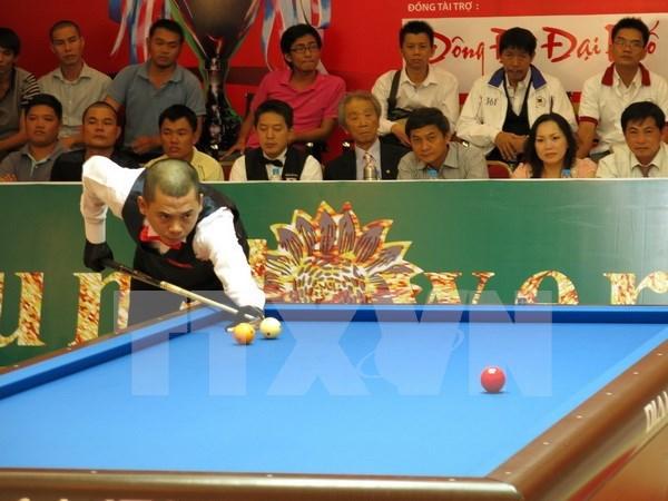 Prochain tournoi international de billard a Binh Duong hinh anh 1