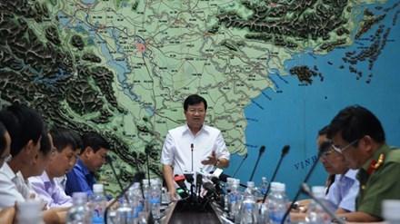 Pour limiter les degats du typhon Dianmu hinh anh 1