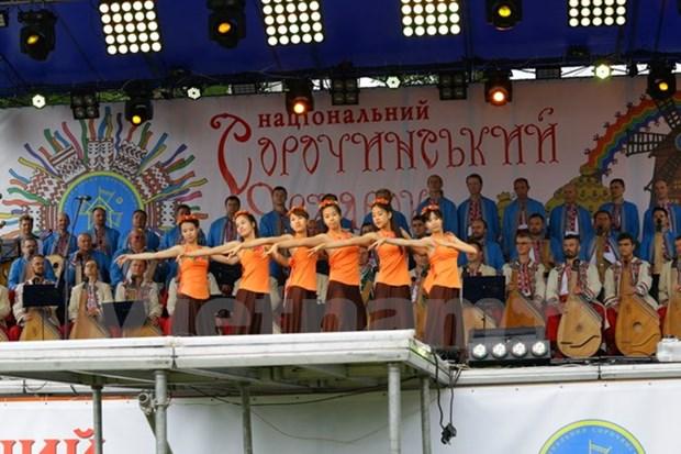 Le Vietnam participe a une foire traditionnelle en Ukraine hinh anh 1