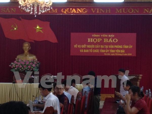 Attentat a Yen Bai : deux dirigeants locaux ont trouve la mort hinh anh 1