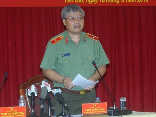 Attentat a Yen Bai : la police locale lance une procedure penale hinh anh 1