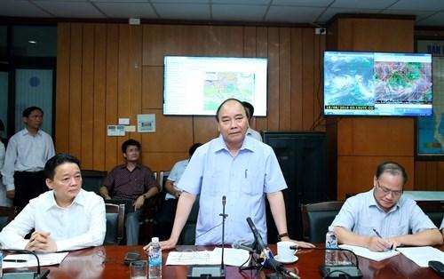 Tempete Dianmu : faire au mieux pour proteger la vie de la population et les biens de l'Etat hinh anh 1