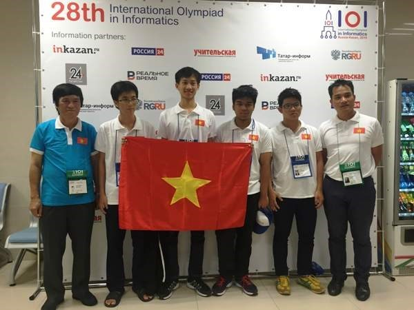 Le Vietnam remporte deux medailles d'or aux Olympiades internationales d'Informatique hinh anh 1