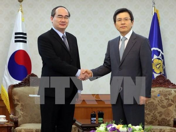 Promotion des relations de cooperation Vietnam-R. de Coree hinh anh 1