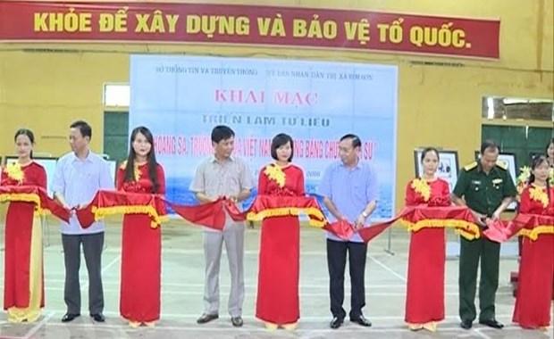 Thanh Hoa : exposition «Hoang Sa, Truong Sa du Vietnam - les preuves historiques» hinh anh 1
