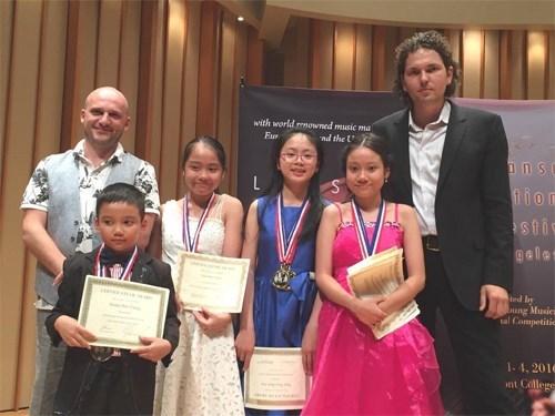 Le Vietnam remporte 22 prix au Festival international de musique Lansum 2016 hinh anh 1