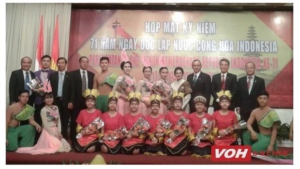 Le 71e anniversaire de la Journee de l'Independance de l'Indonesie celebre a HCM-Ville hinh anh 1