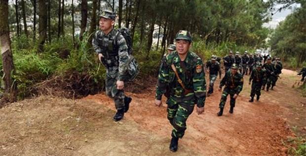 """Les liens entre les deux armees, un """"pilier"""" des relations Vietnam-Chine hinh anh 1"""