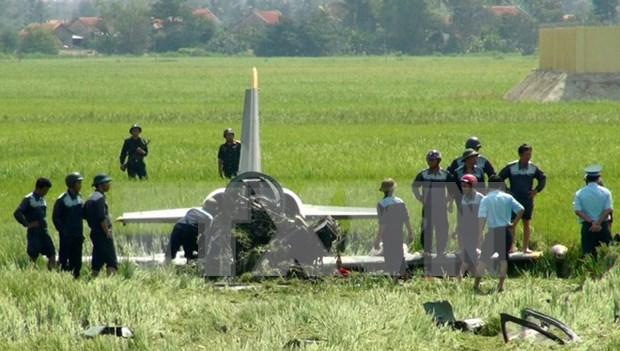 Ecrasement d'un avion d'entrainement militaire a Phu Yen hinh anh 1