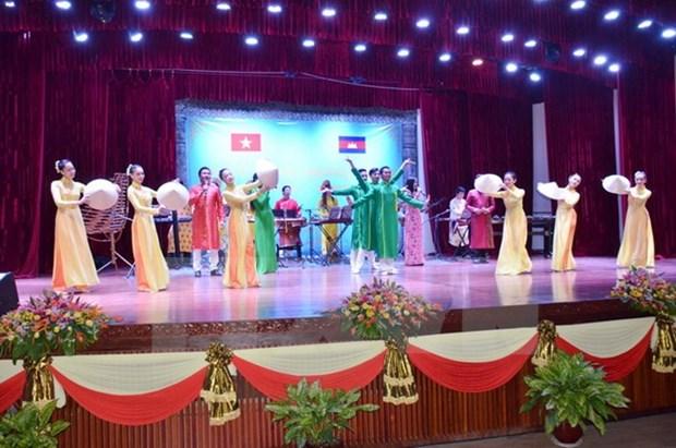 Ouverture de la Semaine de la culture du Vietnam au Cambodge hinh anh 1