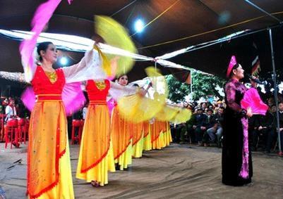 A Thai Binh, le club de cheo du village de Khuoc sonne toujours les trois coups hinh anh 1