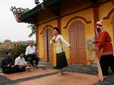 A Thai Binh, le club de cheo du village de Khuoc sonne toujours les trois coups hinh anh 2