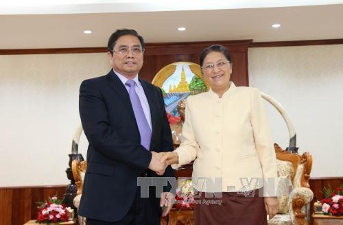 Renforcement de la cooperation Vietnam-Laos hinh anh 1