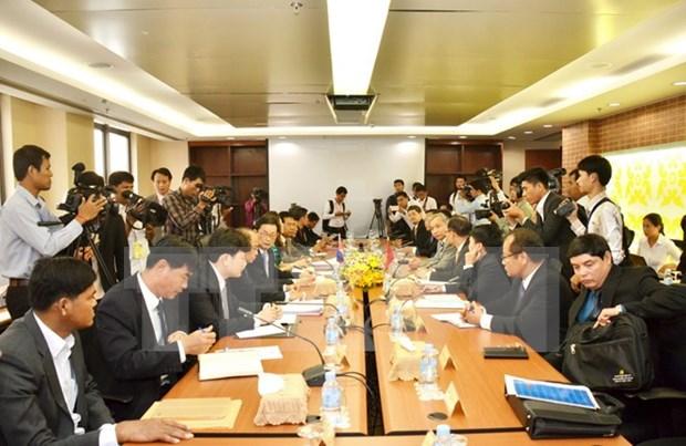 Reunion Vietnam-Cambodge sur la delimitation de la frontiere commune hinh anh 1