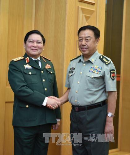 Activites du ministre de la Defense en Chine hinh anh 1