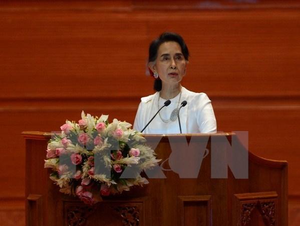 Ouverture de la conference de paix au Myanmar hinh anh 1