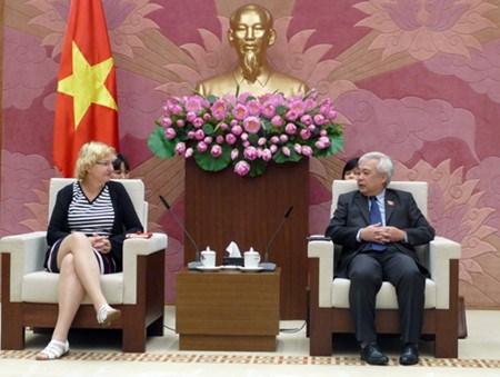 Cooperation Vietnam-UNICEF dans la garantie des droits de l'enfant hinh anh 1