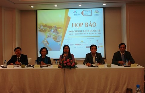 Pres de 200 voyagistes etrangers a la 12e ITE HCMC 2016 hinh anh 1