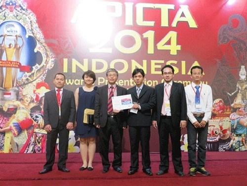 Des produits vietnamiens des TI vont au Prix APICTA 2016 hinh anh 1