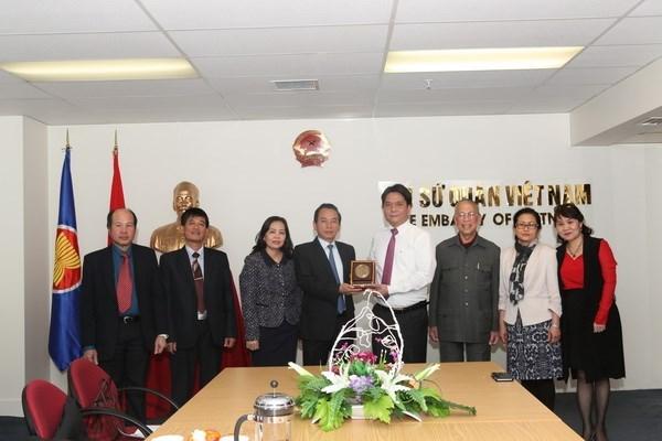 Le president du FPV de Hanoi en visite en Nouvelle-Zelande hinh anh 1