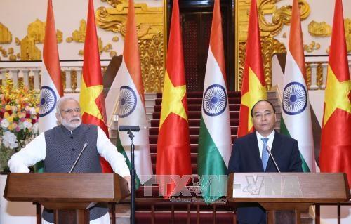 Le Vietnam et l'Inde ont etabli leur partenariat strategique integral hinh anh 1