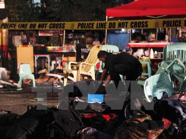 Le Vietnam condamne fermement les coupables de l'explosion a la bombe au Sud des Philippines hinh anh 1
