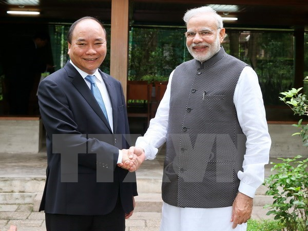 Declaration commune Vietnam-Inde sur l'etablissement de leur partenariat strategique integral hinh anh 1
