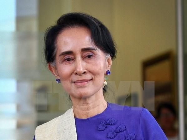 Myanmar : Cloture de la Conference de paix de Panglong hinh anh 1