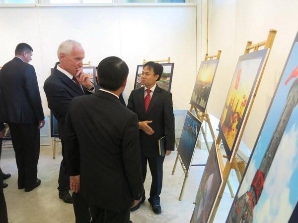 Hongrie : exposition photographique en l'honneur de la Fete nationale du Vietnam hinh anh 1