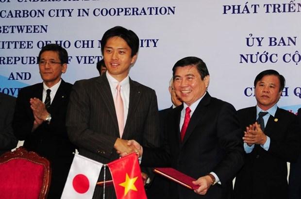 HCM-Ville et Osaka cooperent dans le developpement de villes a faible emission de carbone hinh anh 1
