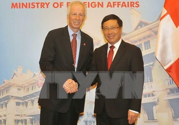 Renforcement de la cooperation Vietnam-Canada hinh anh 2