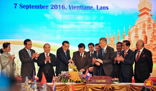 Lignes directrices Chine-ASEAN sur les situations d'urgence maritimes hinh anh 1