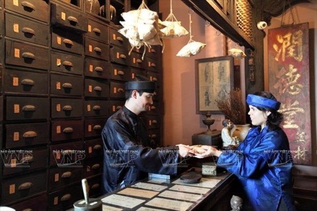 Un musee presente des tresors nationaux de la medecine traditionnelle hinh anh 1