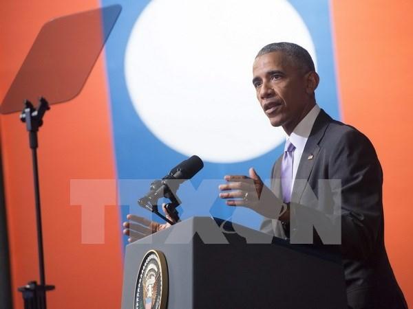Laos et Etats-Unis etablissent un partenariat integral hinh anh 1