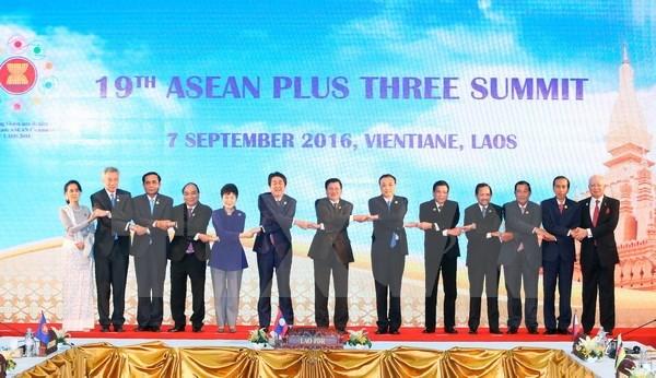 L'ASEAN+3 s'engage a promouvoir la cooperation au developpement durable hinh anh 1