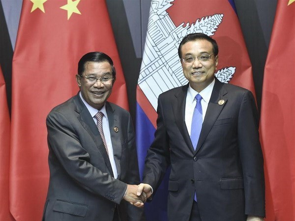 Chine et Cambodge souhaitent renforcer leur cooperation hinh anh 1