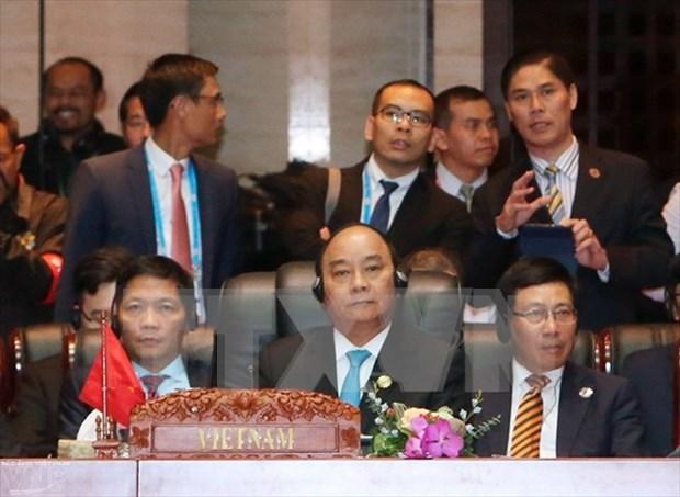 Le Premier ministre Nguyen Xuan Phuc aux Sommets de l'Asie de l'Est et ASEAN+1 hinh anh 1