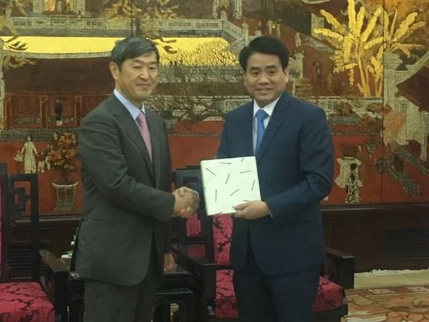 La JICA continue de soutenir Hanoi dans des projets de transport urbain hinh anh 1
