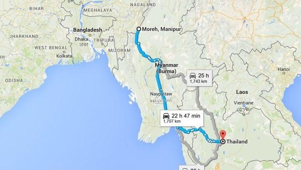 L'Inde accelere le projet d'extension de l'autoroute trilaterale vers les pays aseaniens hinh anh 1