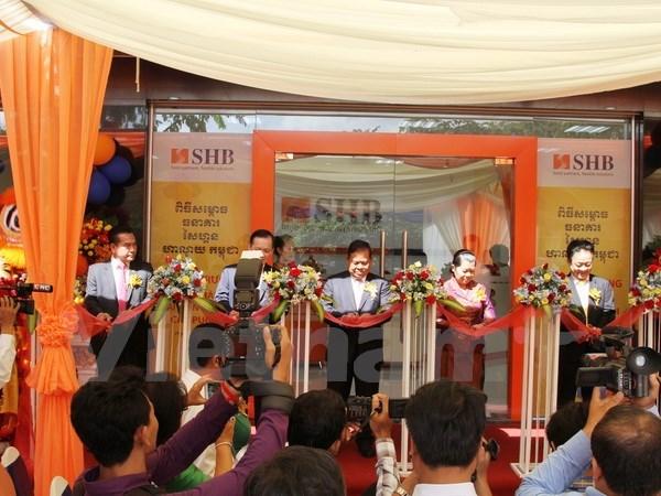 Ouverture d'une succursale de la SHB au Cambodge hinh anh 1