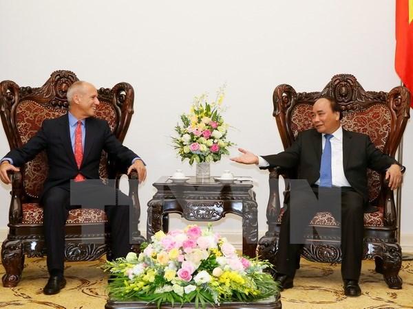 Le chef du gouvernement recoit le directeur general du groupe Indochina Capital hinh anh 1