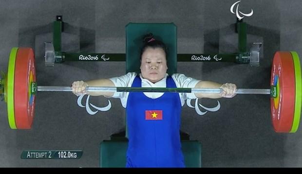 Jeux paralympiques : une deuxieme medaille pour le Vietnam hinh anh 1