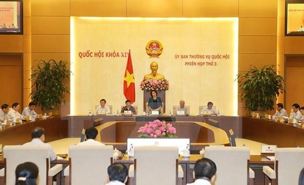 Ouverture de la 3eme reunion du Comite permanent de l'Assemblee nationale hinh anh 1
