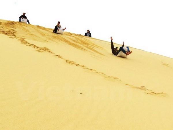 Une delegation de Famtrip explore le tourisme a Binh Thuan hinh anh 1