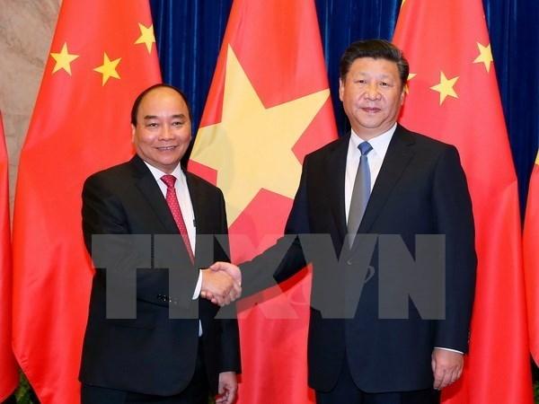 Entrevue Nguyen Xuan Phuc - Xi Jinping hinh anh 1