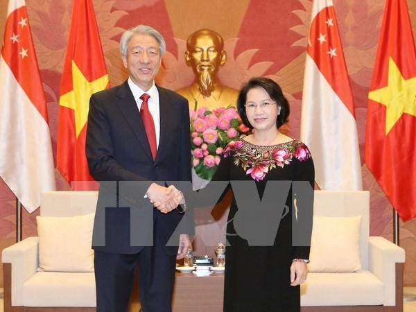 Vietnam et Singapour dynamisent leur cooperation multiforme hinh anh 2